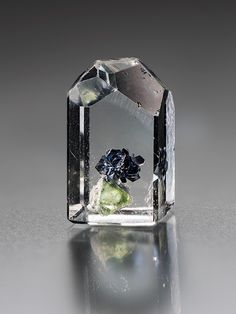 Topaz with mystery inclusion.