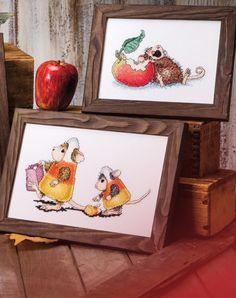 Gallery.ru / Фото #20 - Four Seasons of Cross-Stitch by House-Mouse Designs - samashveya