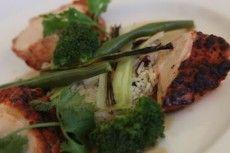 Grilled Chicken Breast Tandoori