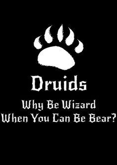 DnD Inspired Druid T-shirt