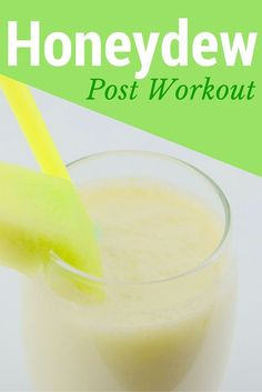 Honeydew Post Workout Protein Smoothie || From http://Blenditup.com