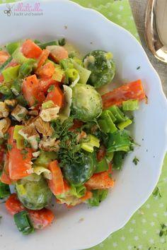 ullatrulla backt und bastelt: Aus dem heimischen Garten | Rezept für eine Gemüse...