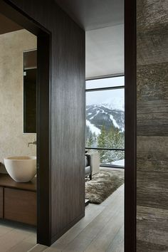 Wooden wall decor. Reid Smith Architects
