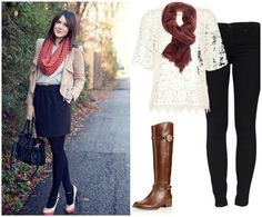legging outfit on the right <3