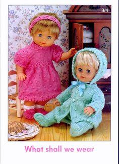 Photo: Baby Booties Knitting Pattern, Knitted Doll Patterns, Knitted Dolls, Baby Patterns, Baby Knitting, Crochet Baby, Knitting Patterns, Knitting Ideas, Free Knitting