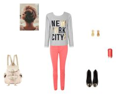 """a day in New York"" by emilyk217 ❤ liked on Polyvore"