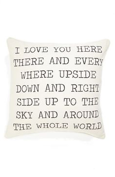such a great throw pillow!  Great for a baby's room