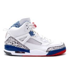 sports shoes 05f40 1b7af Air Jordan Spizike White Varsity Red True Blue 315371-163 Cheap Jordan 11,  Jordan