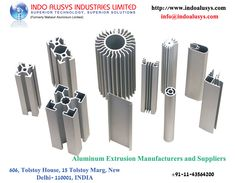 There are many Aluminum Extrusion Manufacturers and Suppliers located across India. Out of which, Indo Alusys Industries Limited which is shortly known as IAIL is a leading pioneer in Aluminum extrusion who excel in producing innovative Aluminum extruded products since 1979. It was known as Mahavir Aluminum Limited in the past.