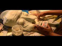 Paper Mache Mask Making - YouTube