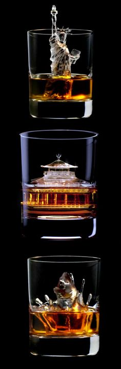 Soon you can order 3D on the Rocks! 3D-milled ice cubes intricate sculptures make your drink ROCK!