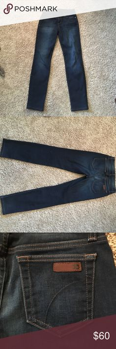 Practically new Joe's jeans Worn twice, straight fit Joe's jeans. Great fit and super comfortable. Price negotiable Joe's Jeans Pants Straight Leg