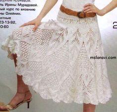 skirt part 1 Crochet Skirts, Knit Skirt, Crochet Clothes, Crochet Lace, Knit Dress, Dress Skirt, Lace Skirt, Fairy Dress, Crochet Woman