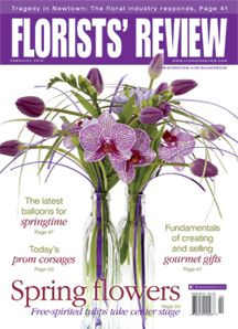 tulips, prom corsages, and Newtown Floral gets help during tough times.  Florists' Review Magazine®, February 2013