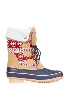 """#cute Fair isle winter boots   <a href=""""/search/?q=%23sponsored"""" class=""""pintag searchl..."""