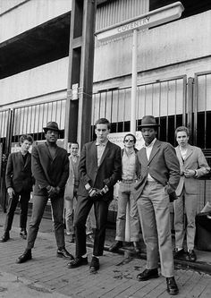"""rosamour:  Twitter / HistoryInPics:   The Specials, 1979. Photograph by Paul Slattery.  """