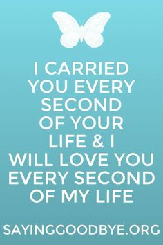 I carried you - Zoe Clark-Coates Quote - #Babyloss #Grief #Miscarriage #Stillbirth