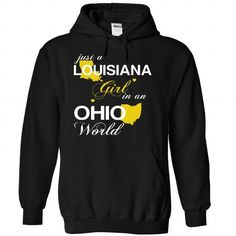 (LAJustVang002) Just A Louisana Girl In A Ohio World - #shirt ideas #tumblr sweater. WANT THIS => https://www.sunfrog.com/Valentines/-28LAJustVang002-29-Just-A-Louisana-Girl-In-A-Ohio-World-Black-Hoodie.html?68278