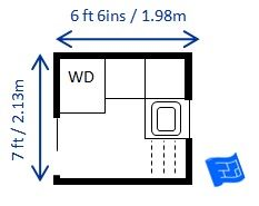 1000 images about laundry dimensions on pinterest for Website to help design a room