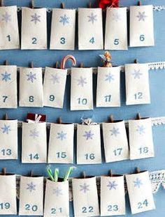 Askartele joulukalenteri - ideoita ja ohjeita Advent Calendar, Christmas Ideas, Holiday Decor