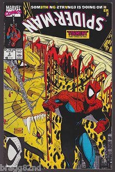 1991 Marvel Comics SPIDER-MAN #3 Todd McFarlane