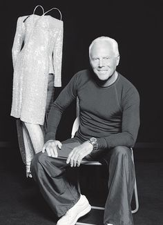Happy Birthday to the fashion icon and perpetually tan Giorgio Armani.