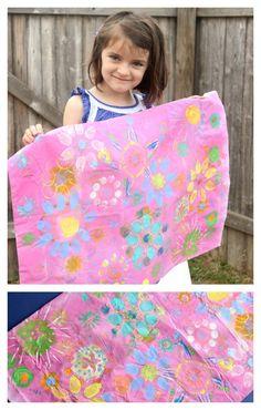 batik style pillowcase inspired by tea collection via kidsstuffworld.com