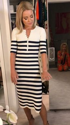Welcome to the official website for the nationally syndicated talk show LIVE with Kelly and Ryan. Kelly Fashion, Kelly Ripa, Style Finder, Fashion Finder, 18th, Short Sleeve Dresses, Style Inspiration, Shirt Dress, Shirts