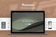 Hansen - HTML5 Template by @Graphicsauthor