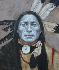 american indians pictures | Henderson Art, Eyes of American Indians: Shaman - American Indian