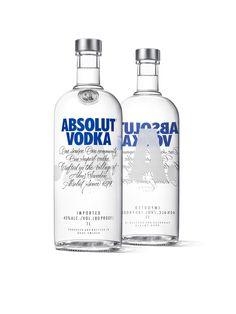 Absolut Vodka Redesign — The Dieline - Package Design Resource