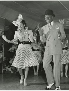 Bill Robinson A.K.A. Bojangles and Other Female Dancer Performing
