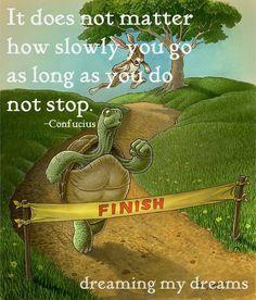 Just keep runnin