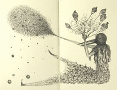 """Pollen Girl"" by Elsa Mora"