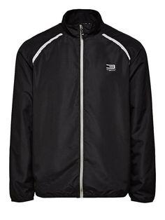 JACK & JONES TECH - Leichte Jacke von TECH - Regular fit - Hoher Kragen - Durchgehender Reißverschluss - Raglan-Ärmel - Bündchen und Saum sind elastisch - Reflektierende Details - Reißverschlusstasche an der Rückseite - Belüftungsstoff am Revers Außenmaterial: 100% Polyester, Futter: 100% Polyester...