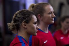 Gallery: WNT Completes Fitness Testing to Kick Off January Camp - U.S. Lynn Williams, Training Center, One Team, First Nations, News Stories, Kicks, January, Soccer, Running