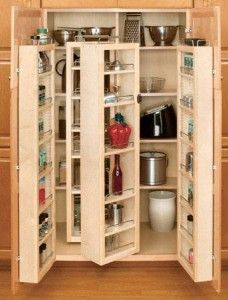 I want a cupboard bookcase that is double deep but accessible - use this idea?