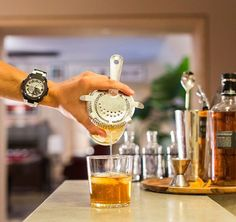 Effortless cool... #casio #gsteel #barman #drink #cool