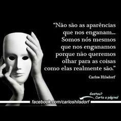 A pior hipocrisia é aquela que praticamos contra nós mesmos... #somostodoshipocritas #comportamento #reflexao #atitude