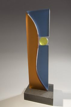 """Silo Series IV #26"" Jackie Braitman  cast glass, concrete"