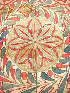 Egyptian appliqued tent panel, detail.
