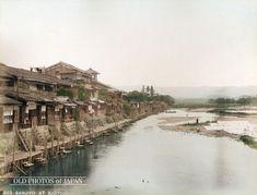 1880年代の京都鴨川