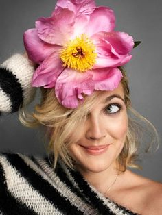 drew barrymore - we all should be a little more like drew!!!