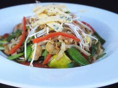 Pad Thai - available with Prwns, Chicken or Beef