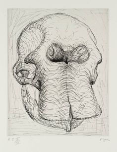 Henry Moore OM, CH 'Elephant Skull Plate I', 1969 © The Henry Moore Foundation, All Rights Reserved, DACS 2014
