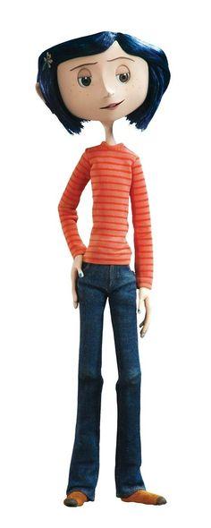 Coraline Outfit for Halloween Coraline Jones, Coraline Doll, Coroline Movie, Movies, Laika Studios, Tim Burton Films, Neil Gaiman, Beetlejuice, Stop Motion