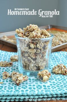 Homemade Granola, vegan, gluten free, way healthier then any store bought 5