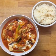 Try my chicken curry in a hurry #Leanin15