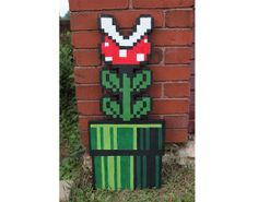 Hey, I found this really awesome Etsy listing at http://www.etsy.com/listing/157968297/super-mario-brothers-piranha-plant