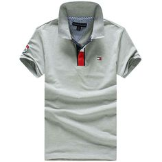 USD$22 Tommy Hilfiger Tops & Tees Shirt Men T Shirts Polo Shirt Men Short Sleeve Casual Shirts Men's T-Shirt Men Tshirts